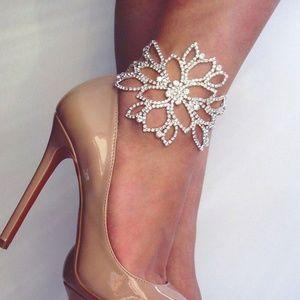 Something Sparkling Wedding Anklet